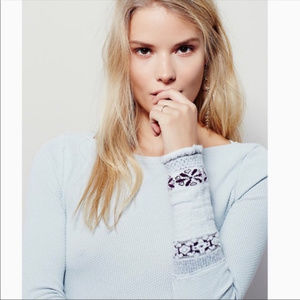 [Free People/We The Free] Rosey Cuff Thermal